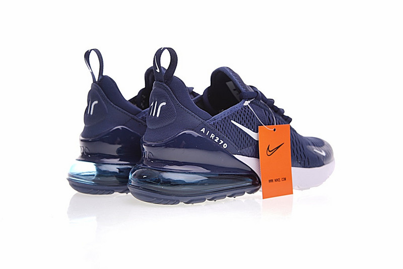 ... Impeccable Nike Air Max 270 Blue White AH8050 410 Men s Sport Running  Shoes Sneakers ... d84910082