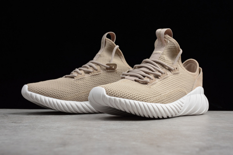 34c09d258c98 ... Zero Defect Adidas Tubular Doom Sock PK Khaki BY3562 Unisex Running  Shoes ...