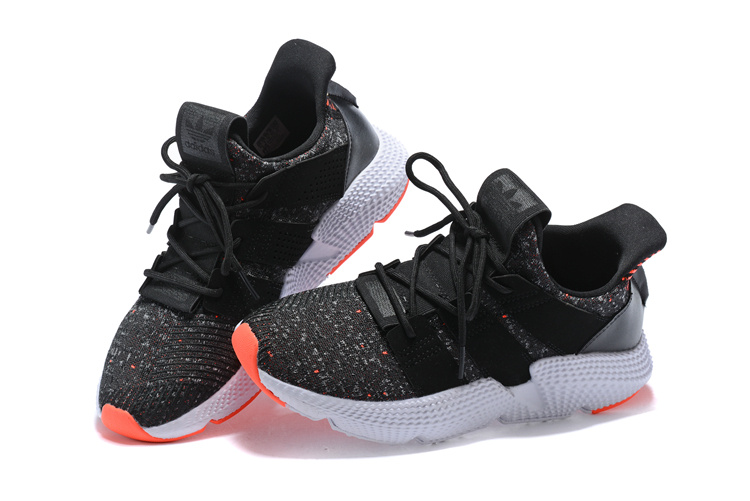cheap for discount a726e f3f10 ... Free Shipping Adidas Originals Prophere Black Grey Orange White Men s  Running Shoes ...