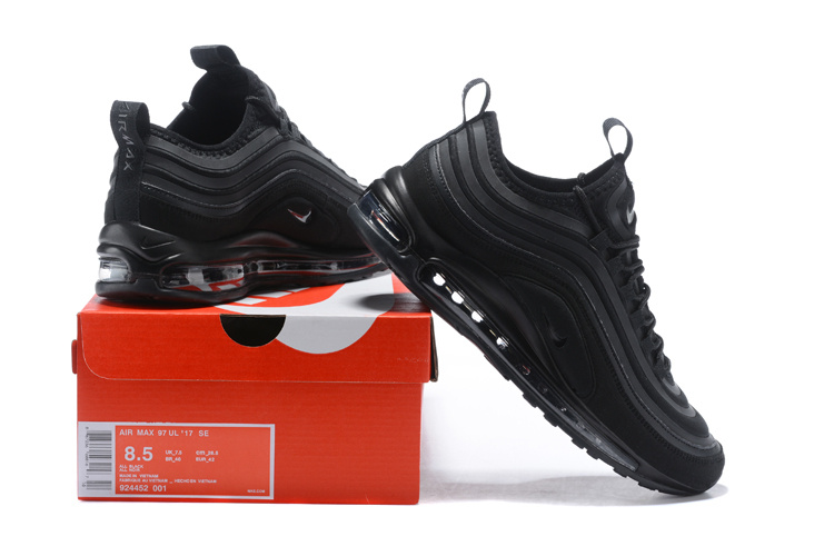 the best attitude c1f1b 318b1 ... Exquisite Nike Air Max 97 Ultra SE Black 924452 001 Mens Running Shoes