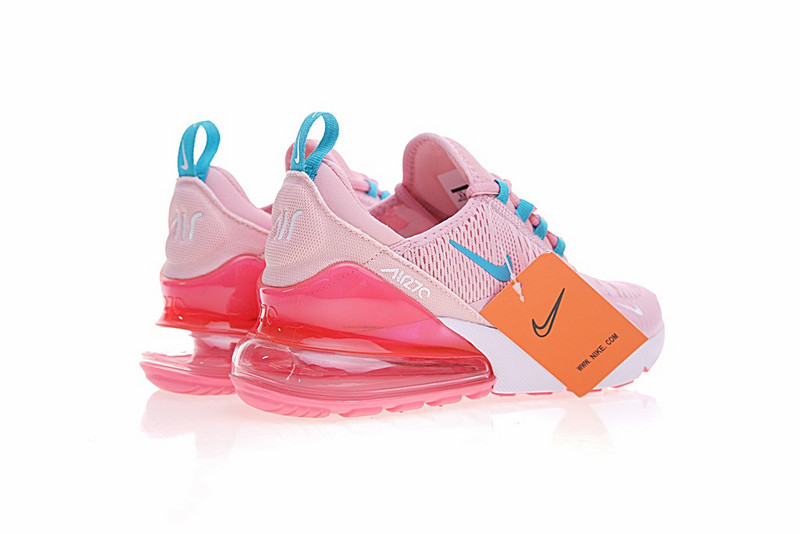 c9fc96582d3aa7 ... New Style Nike Air Max 270 Pink Blue White AH8050 650 Women s Sport  Running Shoes Sneakers ...