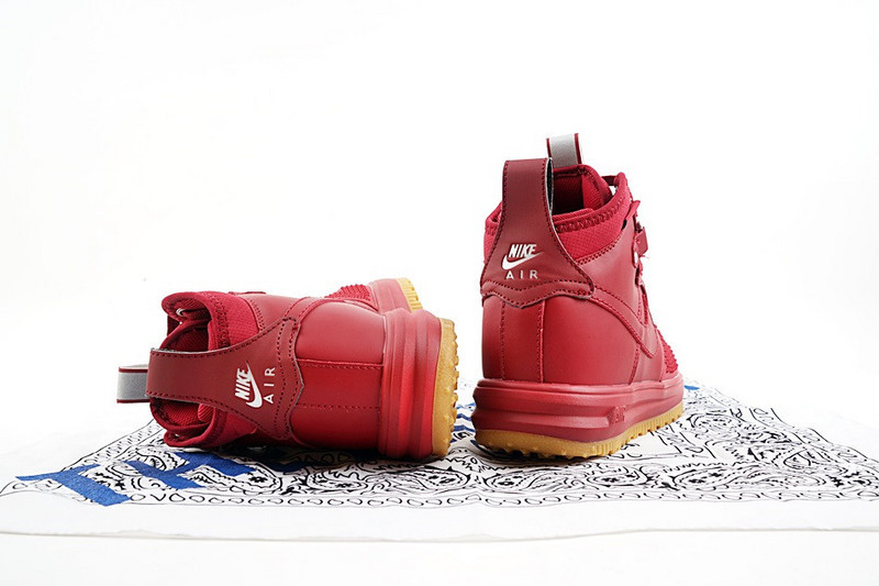 ... Reasonable Price Nike Lunar Force 1 Duckboot Prm Wine Red 805899 600 Men's  Casual Shoes ...