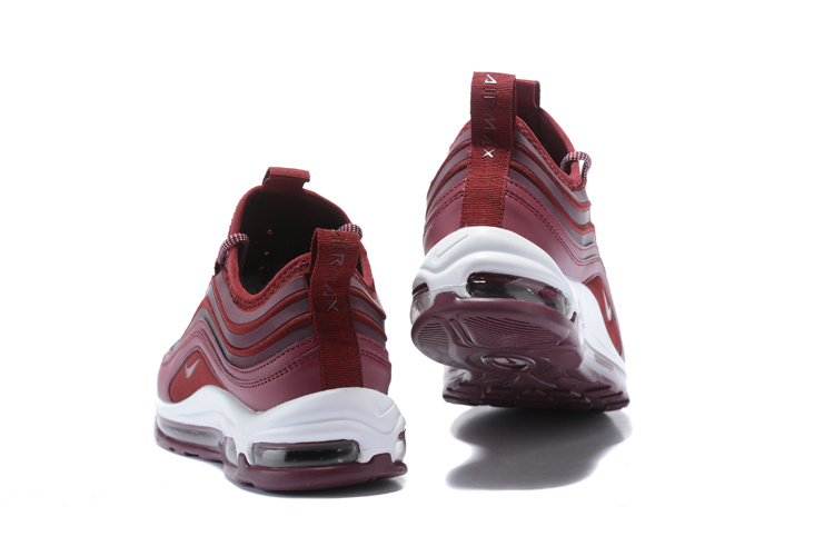 6cb58b3c6296 ... Advanced Design Nike Air Max 97 Ultra SE Wine Red 917704 903 Men s  Running Shoes ...