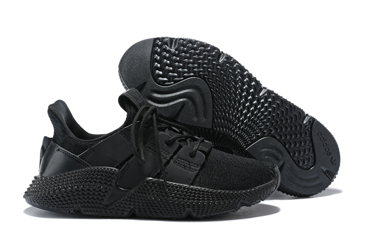 7ff6581d43a0 ... Skillful Manufacture Adidas Originals Prophere Black Men s Running  Shoes ...