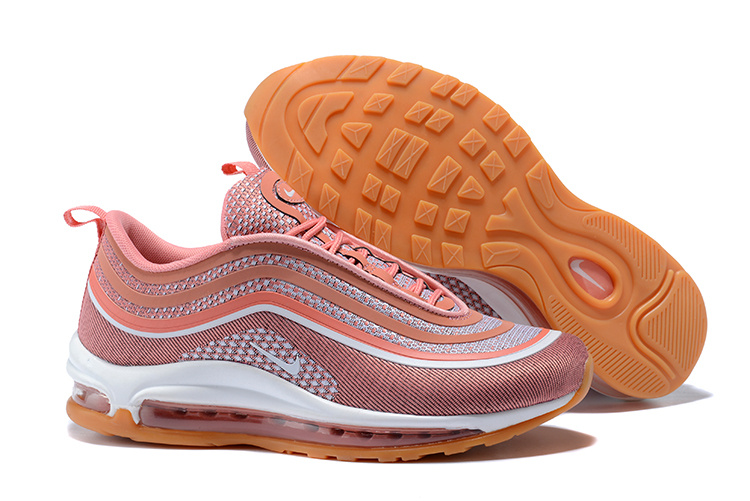 best service 4712c 5486d ... Best Sell Nike Air Max 97 UL 17 Rose Gold Orange 917704 600 Women s  Running Shoes ...