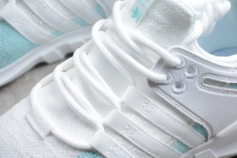 17674cfb59e1 ... Durable Adidas EQT Support ADV White Blue AC7804 Unisex Running Shoes  ...