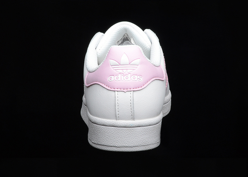 Attraente adidas originali superstar bianco - rosa ba9915 donne