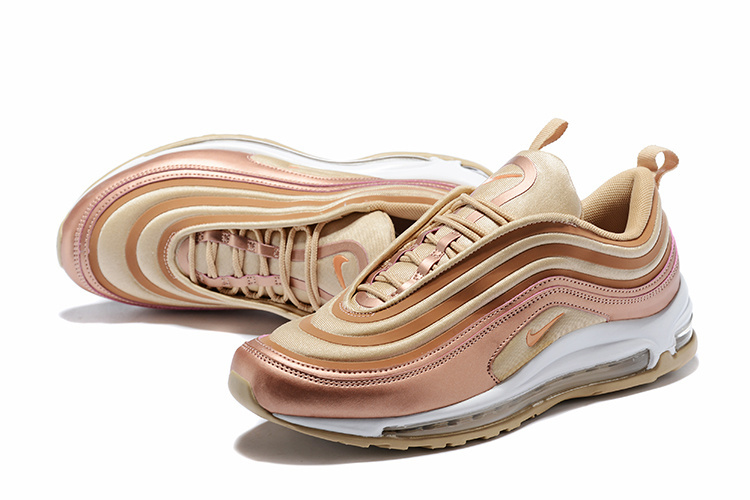 7601f3feab ... Comfortable Nike Air Max 97 Ultra SE Gold Women's Running Shoes ...