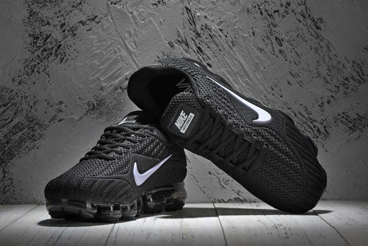 ... High-end Product Nike Air Vapormax Flyknit Black White 849558 001  Unisex Running Shoes ... 28602e834