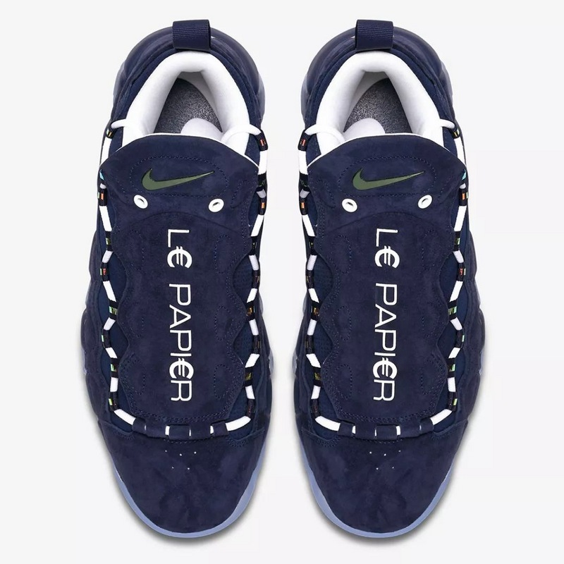 4c53401c5d8 Sophisticated Technology Nike Air Max More Uptempo Blue Unisex basketball  Shoes ...