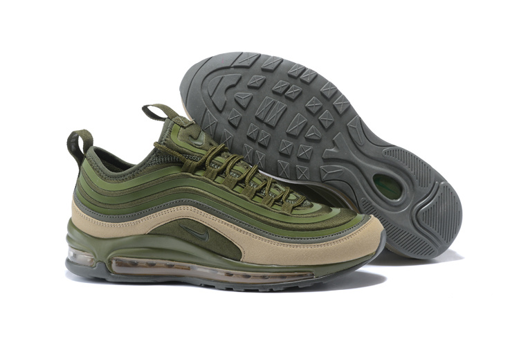 separation shoes 9a35f 1acb6 ... Zero Defect Nike Air Max 97 Ultra SE Army Green 924452 300 Mens  Running Shoes ...