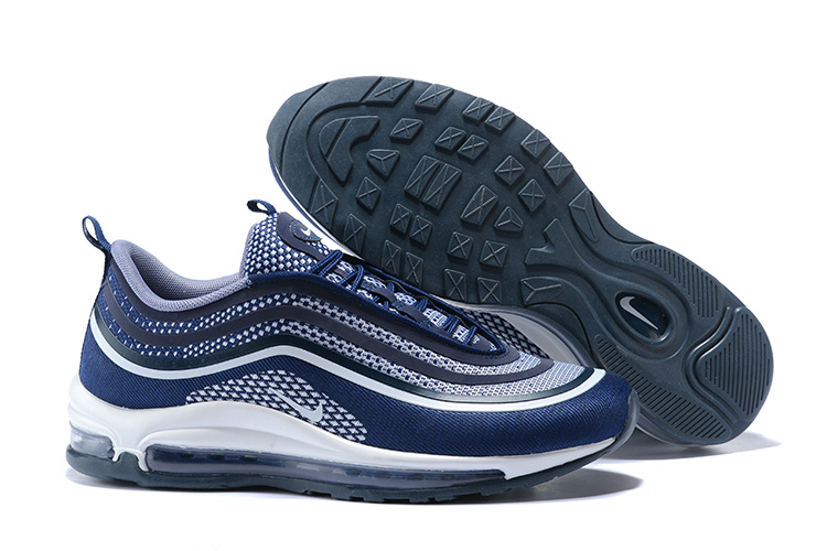 2d0790e162 ... Zero Defect Nike Air Max 97 UL 17 Blue White 918356 400 Men's Running  Shoes Sneakers ...