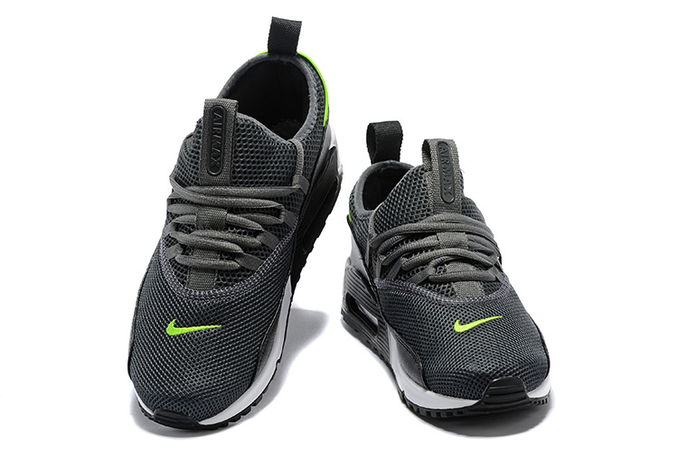 separation shoes 5b666 224a6 ... New Pattern Nike Air Max 90 EZ Cool Grey Anthracite Grey White Men s  Running Shoes ...