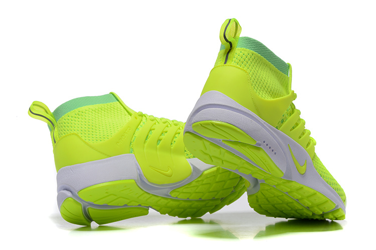 best website 97036 ea3c9 ... Nike Air Presto Fluorescent Green Mens High Sport Running Shoes ...