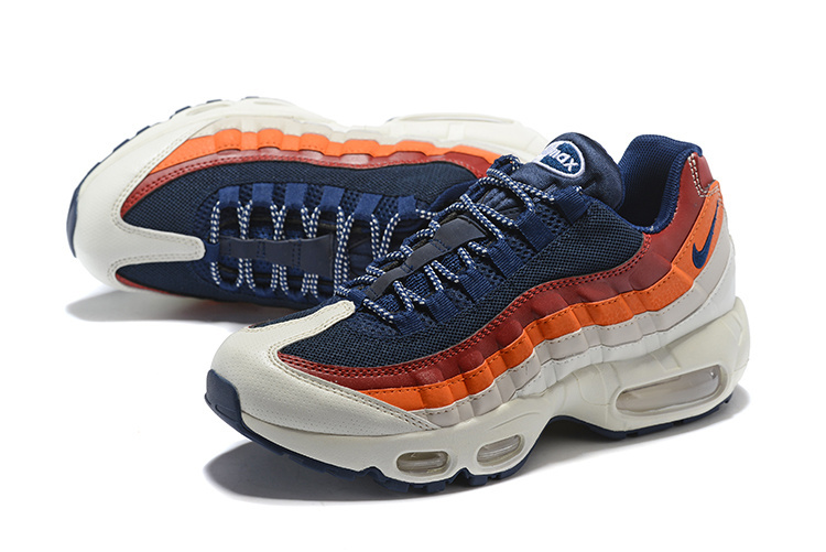 newest 0cd0b 35fa5 ... sale nike air max 95 essential black blue red and white 749766 108 mens  retro running