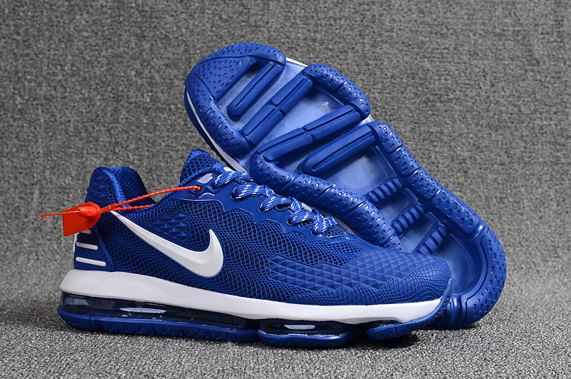 f052f4e574b8 ... Have Personality Nike Air Max 2019 Drop Plastic Bao Blue White Men s  Running Shoes ...