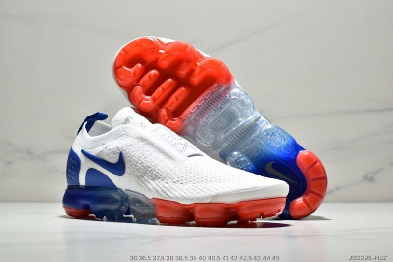7960a1666fb5e ... Nike Air VaporMax Moc 2 Independence Day White Blue Red AH7006-400  Unisex Sport Running ...