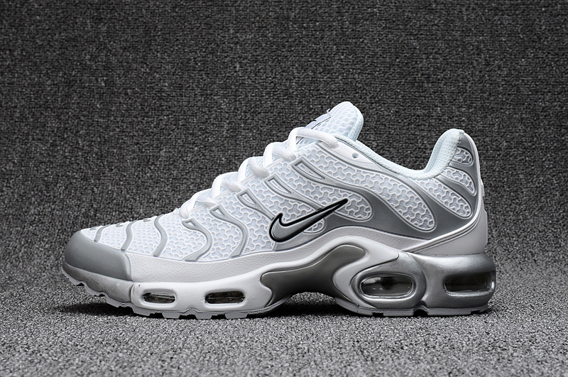 Alta Calidad Nike Air Men Max Tn Blanco Ash Men Air Sport Running Zapatos 972489