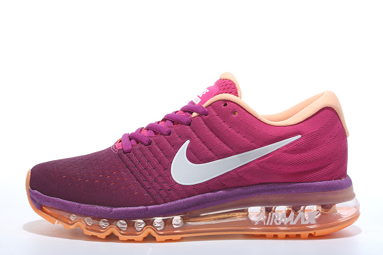 7c3aeb0649c Advanced Design Nike Air Max 2017 Pink Women s Running Shoes - ShoesGain.com