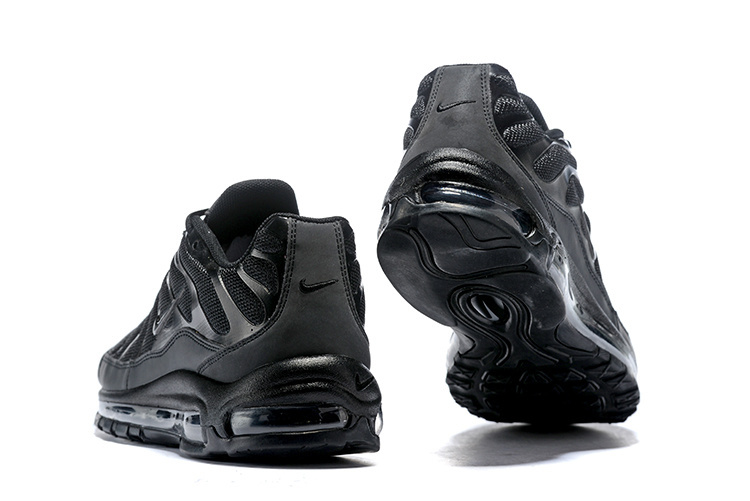 best deals on 704b4 546e7 ... Free Shipping Nike Air Max 97 Plus Pure Black AH8143-001 Men s Running  Shoes ...