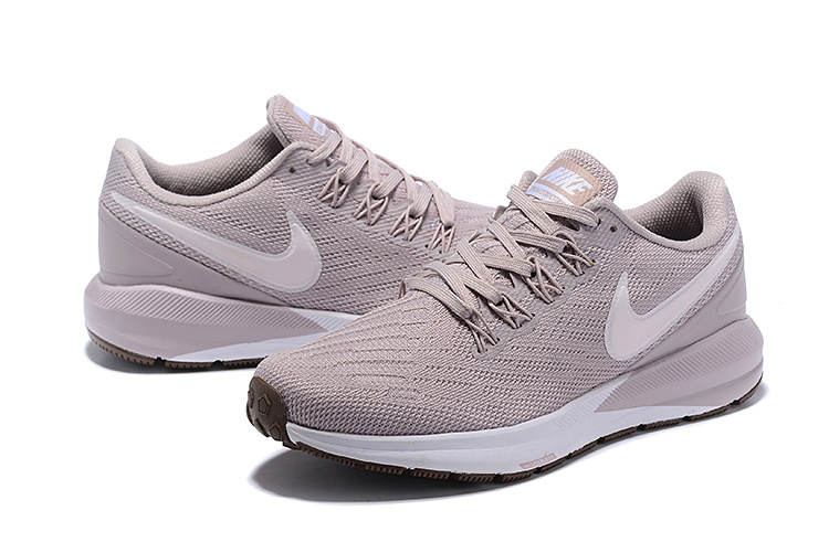 innovative design 4e945 a561a ... Durable Nike Air Zoom Structure 22 Ash Women's Sport Running Shoes ...