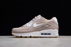the best attitude 9d037 9c834 Nike Air Max 90 Essential Brown And White 325213-210 Women s Running Shoes